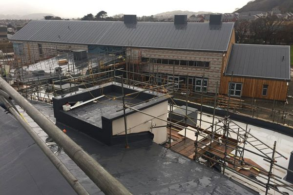 Llandudno Junction School Roofing Process