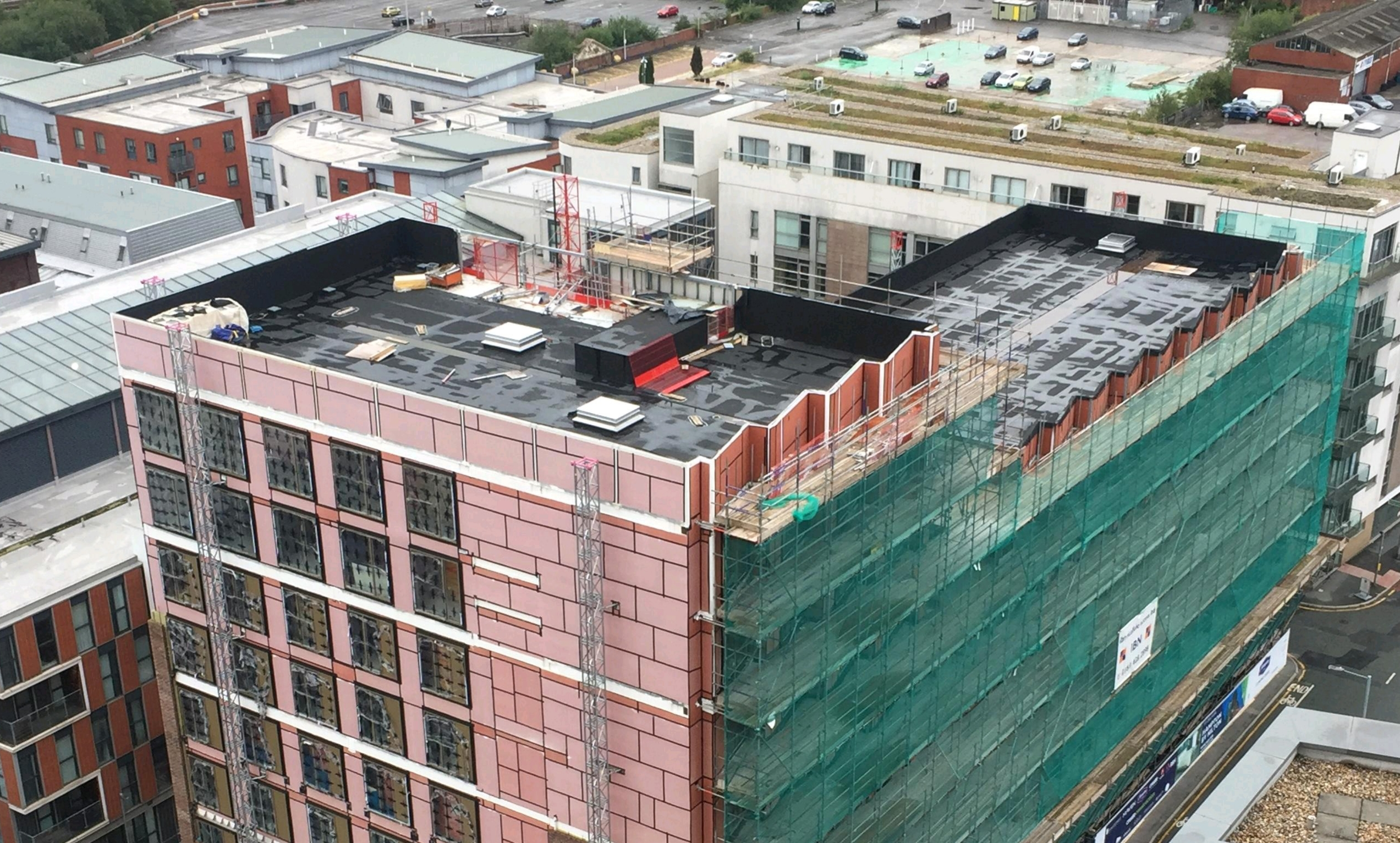 Roofing services by AAC Waterproofing